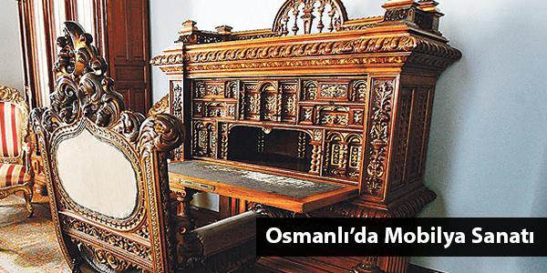 Osmanlı'da Mobilya