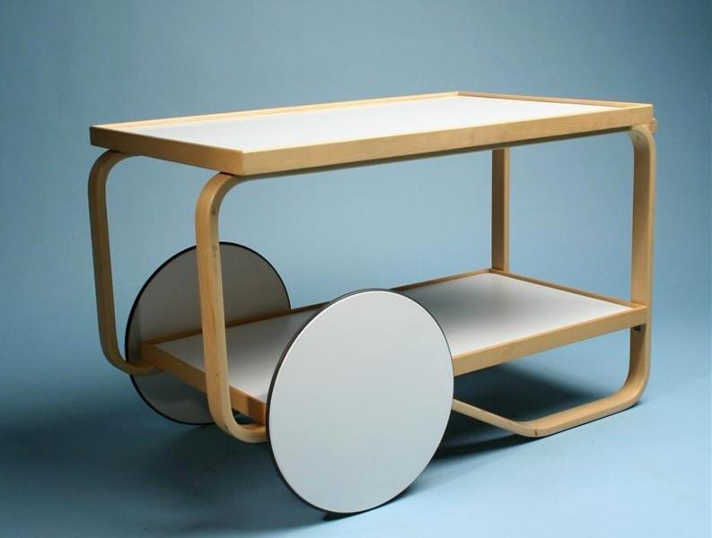 Alvar Aalto - Çay arabası